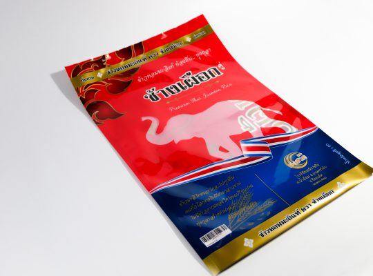 ถุงลามิเนต ถุงข้าวสาร ถุงพิมพ์ 7 สี 8 สี